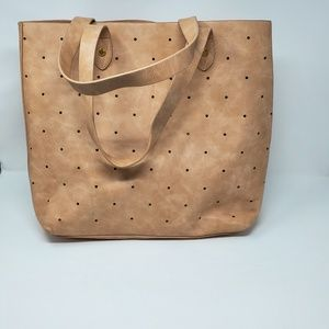 Steve Madden Large Hole Punch Tote